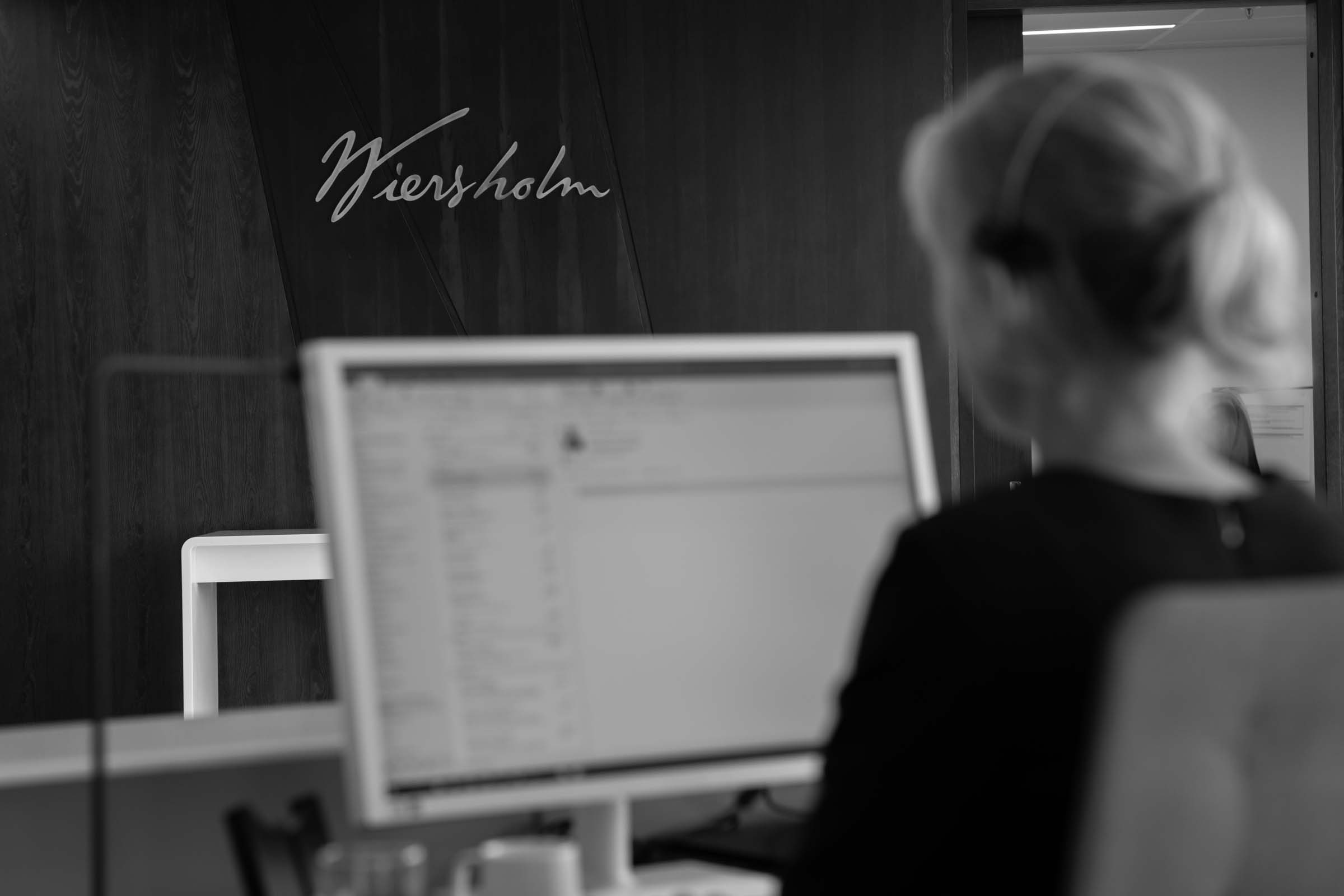 Meet one of our receptionists